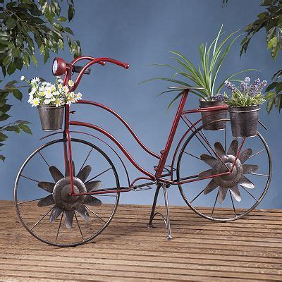 metal bicycle planter planters products