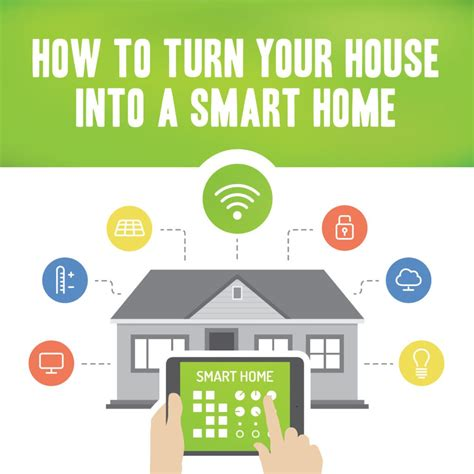 how to turn your house into a smart home