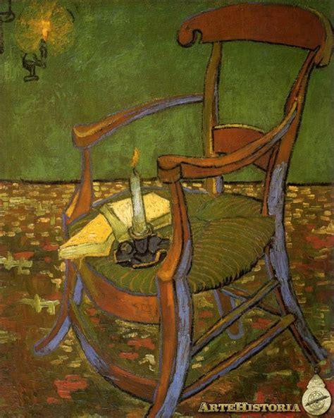 silla de van gogh silla de gauguin artehistoria