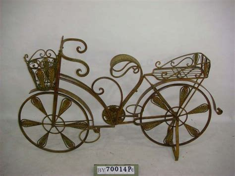 china metal bicycle planter by70014 china garden