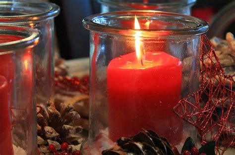 christmas tree scented candle christmas prep