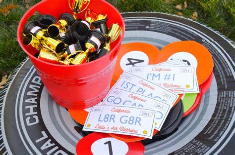 cars themed birthday games kara s party ideas 187 race car themed birthday party via