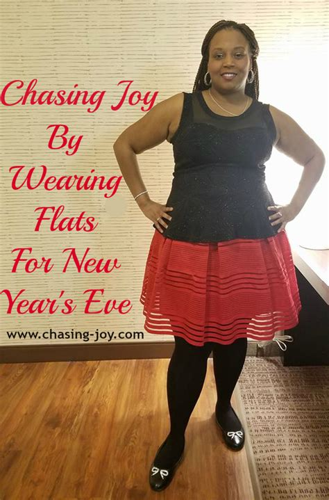 wearing on new year chasing by wearing flats for new year s chasing