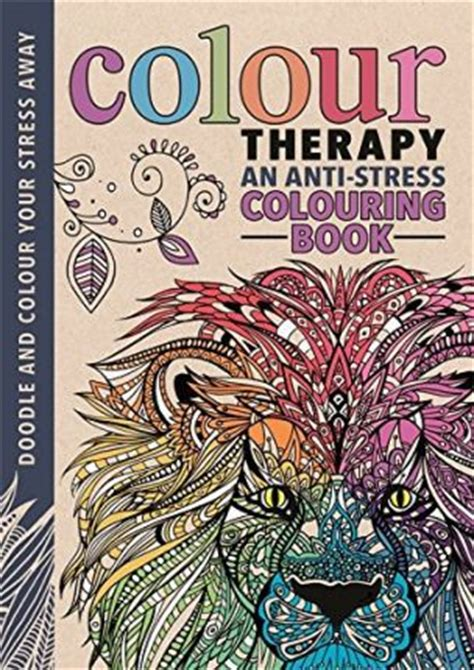 color therapy anti stress coloring book pages colour therapy wilde 9781782433255