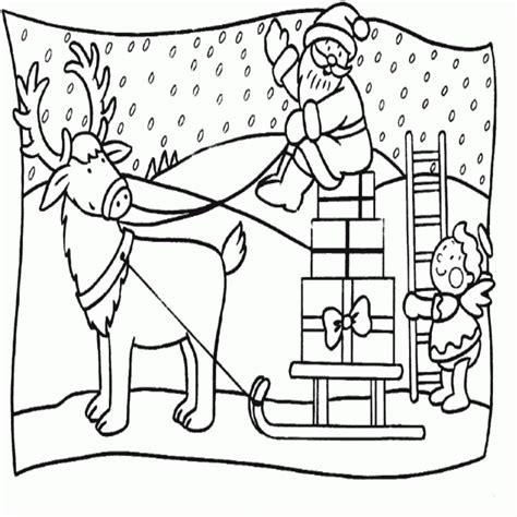 15 imagenes de navidad para colorear nocturnar 15 dibujos de navidad para colorear gratis