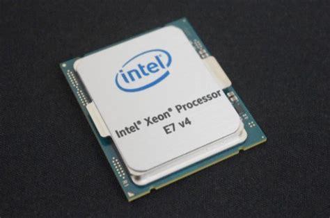 Lu Projie Xeon Intel Xeon E7 8800 4800 V4 Mit 24 Kernen An Die Spitze Der Server Cpus Hardwareluxx