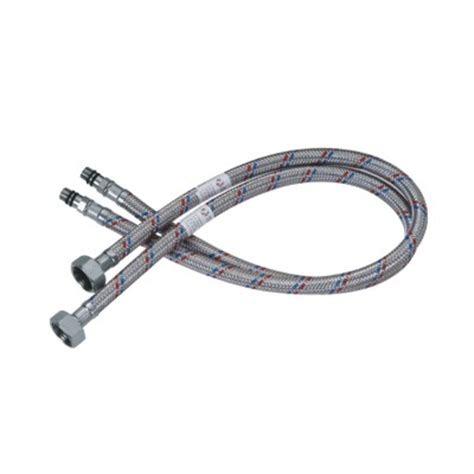braided hoses for deck mounted faucet water