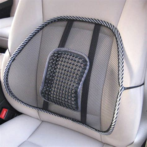 seat support universal car back seat support mesh lumbar back brace