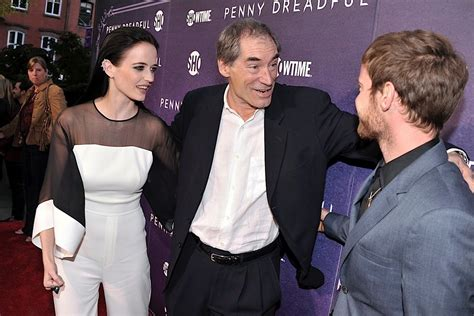 timothy dalton eva green eva green timothy dalton and harry treadaway attend the