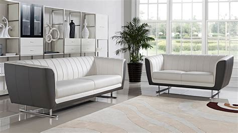 Set Sofa Cafe delta 3 2 1 sofa set white zuri furniture