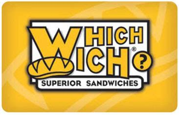 Gift Card Amount Check - which wich gift cards