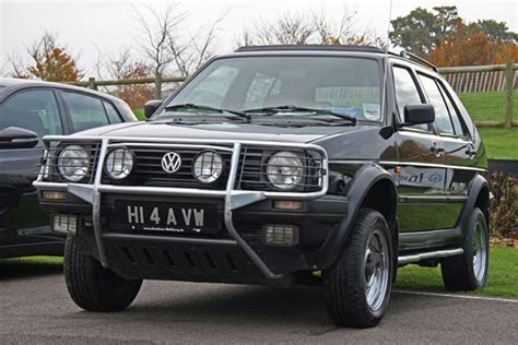 Vw Golf Syncro by Vw Golf Country Syncro Before Crossovers Were Cool