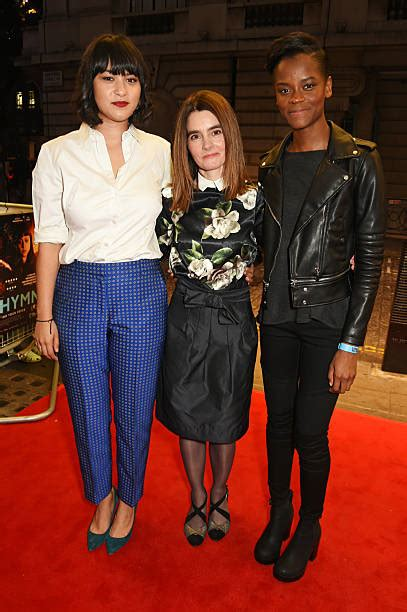 letitia wright north london quot urban hymn quot charity screening vip arrivals photos and