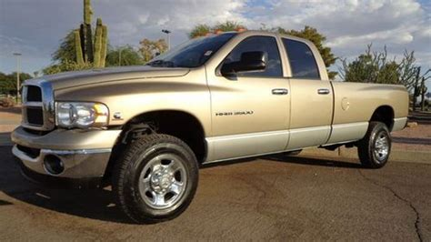 how does cars work 2003 dodge ram 3500 parking system sell used 2003 dodge ram 3500 slt 4x4 cummins diesel new tires 1 owner rust free az truck in