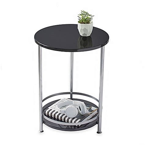 2 tier side table 2 tier side table bed bath beyond