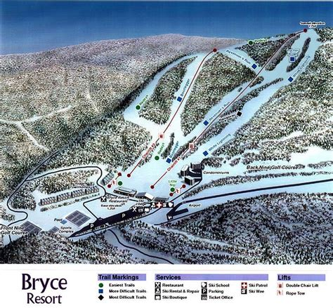 Blu Max Sweepstakes Login - bryce resort trail map piste map panoramic mountain map