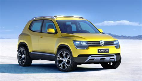 volkswagen new car volkswagen taigun concept previews new baby suv photos