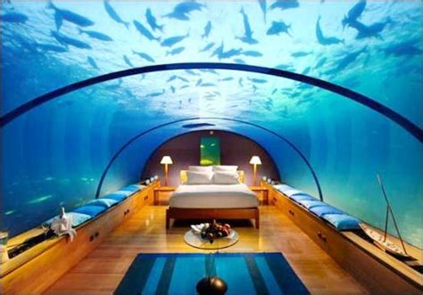 underwater bedroom in maldives underwater bedroom conrad maldives rangali island hotel awesome ideas pinterest