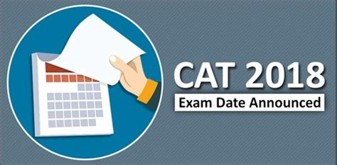 Cat Mba Entrance Date by Cat 2018 Date Announced Detailed Notification To