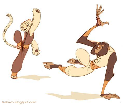 Kaos 3d Kungfu Panda White kung fu animals by xav drawordie on deviantart