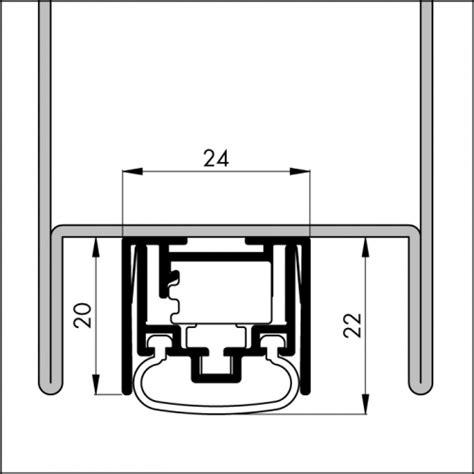 aluminium tür kaufen automatische t 252 rboden dichtung tb111 l 228 nge 680 mm