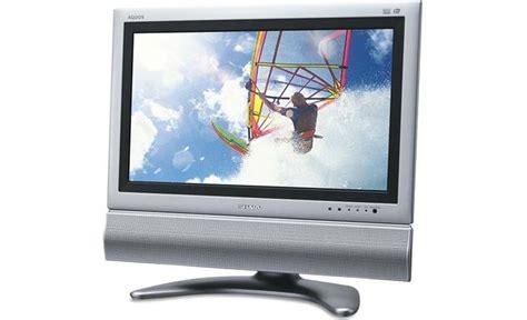 Tv Sharp Aquos 22 Inch Bekas sharp lc 22sv6u 22 quot aquos edtv lcd tv at crutchfield