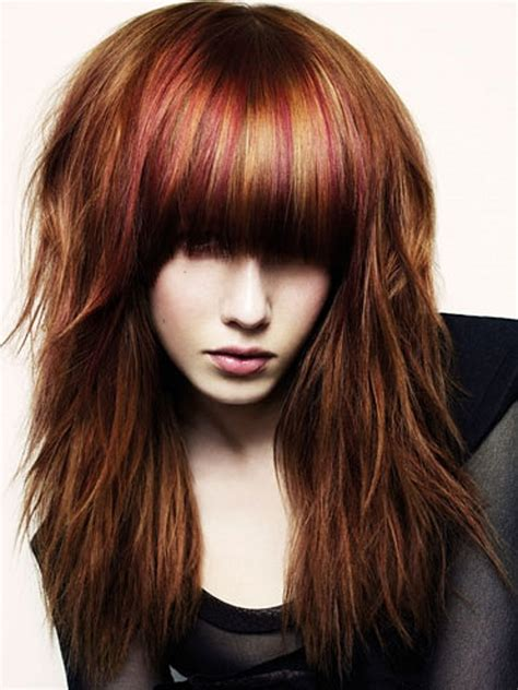 bold hair highlights ideas