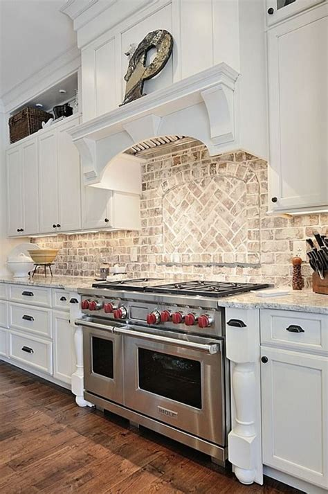 Brick Tile Kitchen Backsplash 32 Kitchen Backsplash Ideas Remodeling Expense