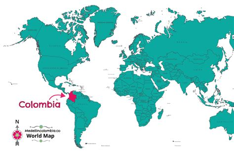 colombia map of the world where is medellin located medellincolombia co
