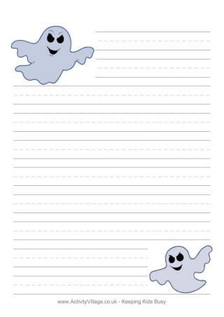 ghost writing paper writing paper