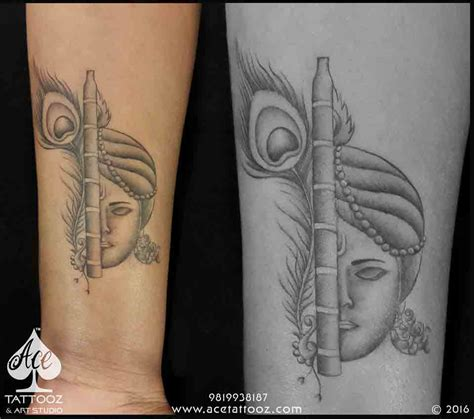 tattoo designer in mumbai lord krishna designs ace tattooz studio