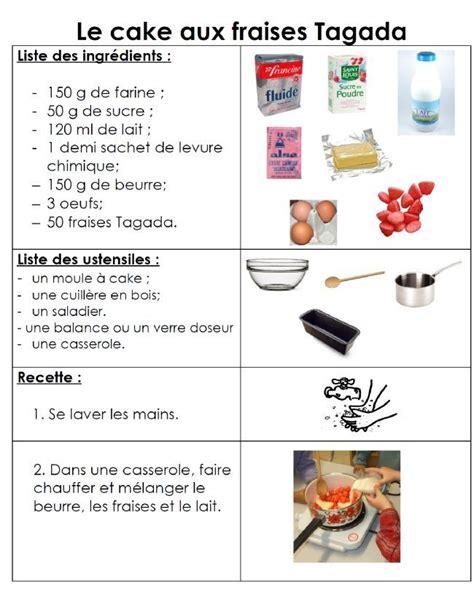 recette cuisine maternelle 156 best images about recette classe on