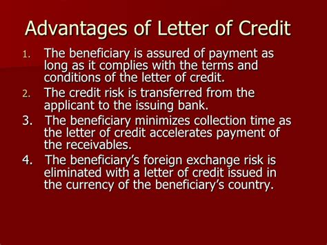 Third Letter Of Credit Letter Of Credit
