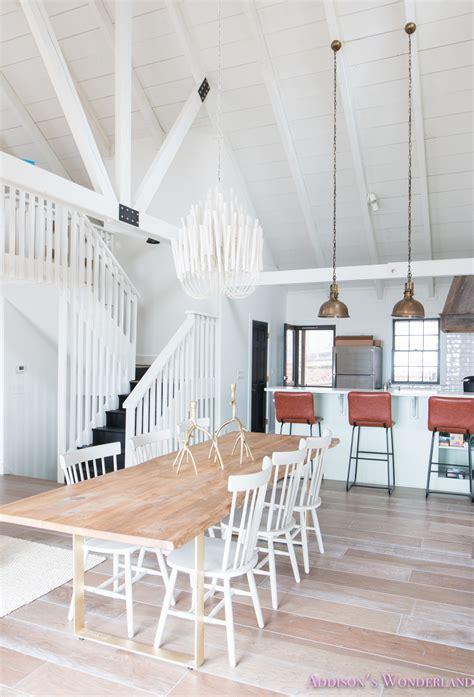 peeks    white cabin renovation