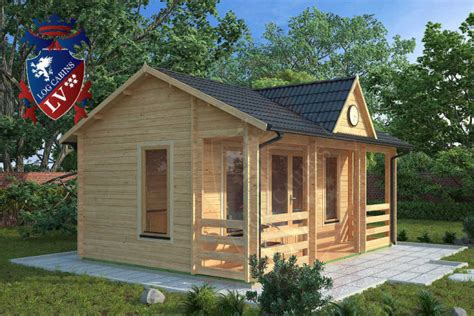 the new clock house log cabin 5 5m x 4 0m