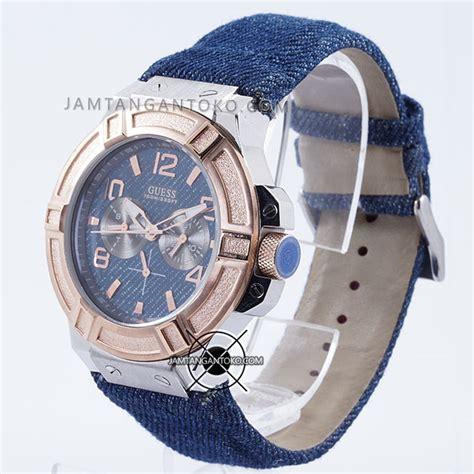 Jam Denim Guess harga sarap jam tangan guess denim w0040g6 biru