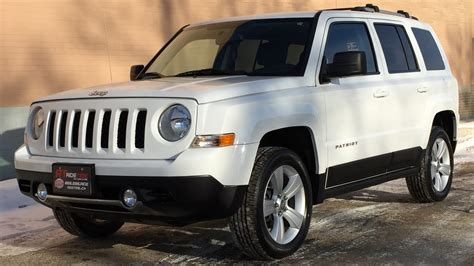jeep patriot seats 2011 jeep patriot limited 4wd leather heated seats nav