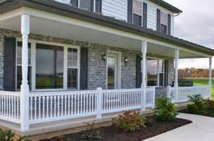 Cost Of New Banister And Spindles Vinyl Porch Railing