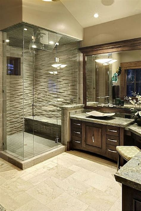 master bathroom shower ideas 25 extraordinary master bathroom designs