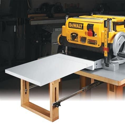 flip    planer extension table woodsmith shop