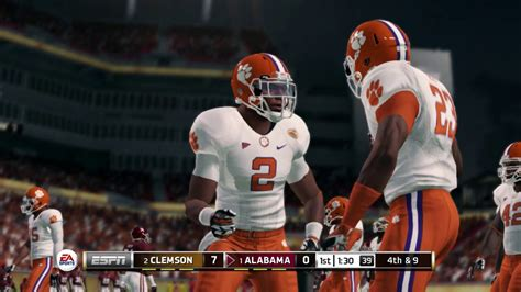 libro nationwide football annual 2016 2017 clemson vs alabama national chionship 2016 2017 ncaa 14 simulation full game youtube