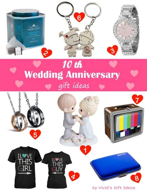 Wedding Anniversary Gift Reddit by Traditional Modern 10 Year Wedding Anniversary Gifts