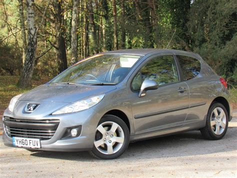 peugeot grey used grey peugeot 207 for sale dorset
