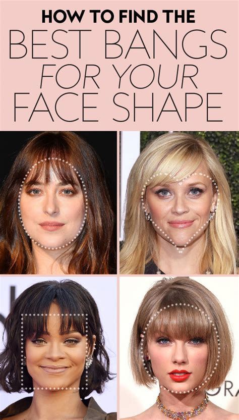 what tyoe of haircut most complimenta a square jawline find the perfect bangs for your face shape instyle com