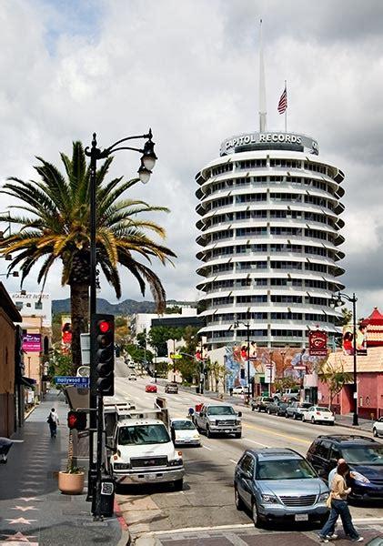 capitol records building landmark on