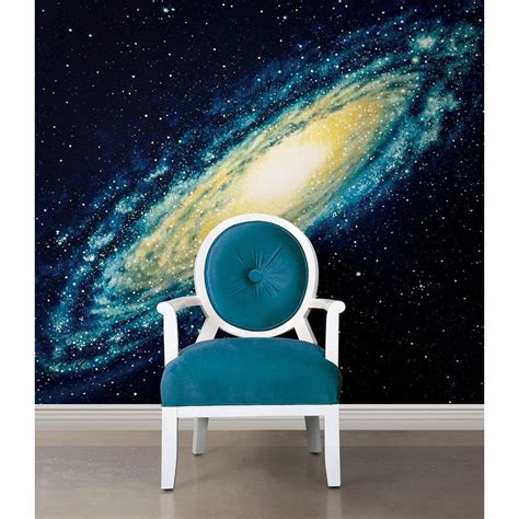 national geographic wall mural national geographic 72 in h x 72 in w galaxy wall mural ng1317 the home depot