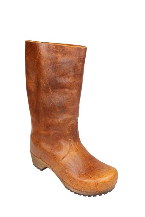 sanita boots sanita allyson cognac clog boots sigh i am in boot