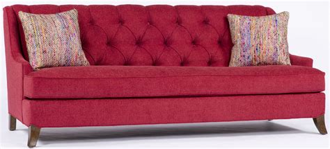 red tufted couch red tufted sofa
