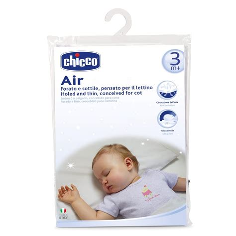 cuscino neonati cuscino antisoffoco lettino air chicco mukako