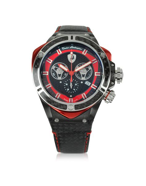 Lamborghini Advantador Chrono Stainless Steel 5 tonino lamborghini black stainless steel and carbon fiber spyder chronograph in black lyst